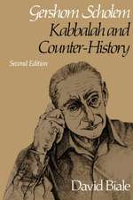 Biale: ∗gershom Scholem∗: Kabbalah & Counter Histo Ry