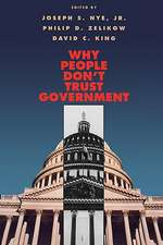 Why People Don′t Trust Government (Paper)