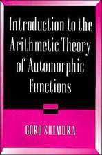 Introduction to Arithmetic Theory of Automorphic Functions