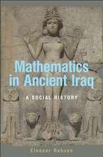 Mathematics in Ancient Iraq – A Social History
