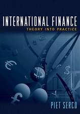 International Finance – Theory into Practice