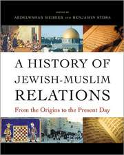 A History of Jewish–Muslim Relations – From the Origins to the Present Day