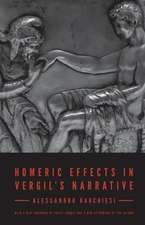 Homeric Effects in Vergil`s Narrative – Updated Edition