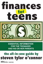Finances for Teens:  New & Collected Poems