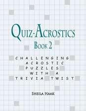 Quiz-Acrostics Book 2