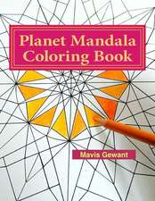 Planet Mandala Coloring Book