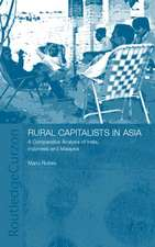 Rural Capitalists in Asia:  A Comparative Analysis on India, Indonesia and Malaysia