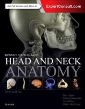 Atlas de anatomie McMinn's : Color Atlas of Head and Neck Anatomy