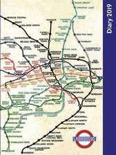 London Underground Desk Diary 2019