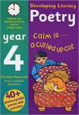Poetry: Year 4