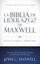 La Biblia de liderazgo de Maxwell RVR60 - Tamaño manual