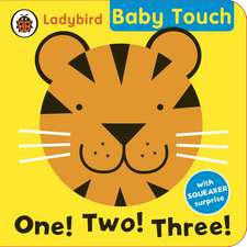 Baby Touch: One! Two! Three! bath book