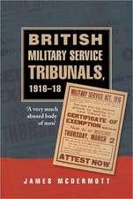 British Military Service Tribunals, 1916-18