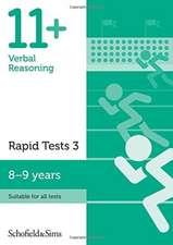 11+ Verbal Reasoning Rapid Tests Book 3: Year 4, Ages 8-9