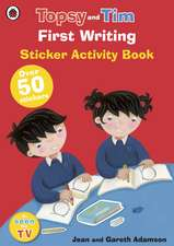 First Writing: A Ladybird Topsy and Tim sticker book