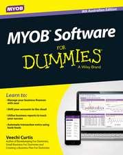 MYOB Software for Dummies – Australia