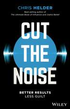 Cut the Noise: Better Results, Less Guilt