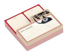 Vintage Telephone Shaped Memo Pads