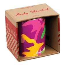 Cană Andy Warhol Magenta Camouflage