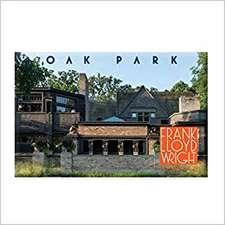 Frank Lloyd Wright Oak Park Magnet
