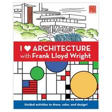 I Heart Architecture with Frank Llyod Wright Activity Book