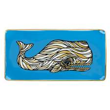 Patch Nyc Whale Large Tray