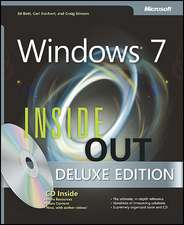 Windows 7 Inside Out [With CDROM]:  Windows Server 2008 Enterprise Administrator [With CDROM]