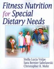Sport Nutrition for Special Dietary Needs