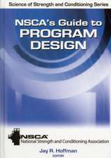 Nsca's Guide to Program Design:  A Modular Approach
