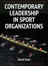 Contemporary Leadership in Sport Organizations:  Effect of Medication on Therapy