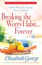 Breaking the Worry Habit... Forever:  God's Plan for Lasting Peace of Mind