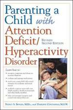 Parenting a Child with Attention Deficit/Hyperactivity Disorder