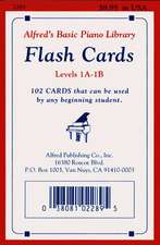 Alfred's Basic Piano Course Flash Cards: Levels 1a & 1b, Flash Cards