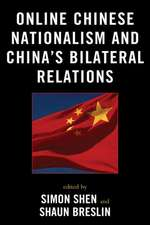 Online Chinese Nationalism and China's Bilateral Relations