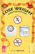 Lose Weight Using Four Easy Steps