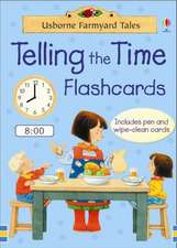 Farmyard Tales Telling The Time Flashcards