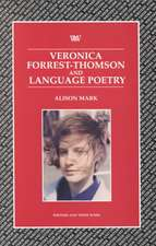 Veronica Forrest-Thompson and Language Poetry