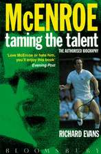 John McEnroe: Taming the Talent: The Authorized Biography