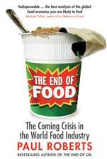 The End of Food