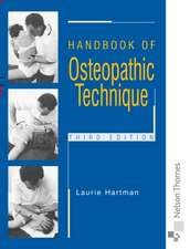 Handbook of Osteopathic Technique Third Edition