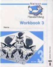 Nelson Handwriting Workbook 3 (X10)