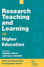 Research, Teaching and Learning in Higher Education