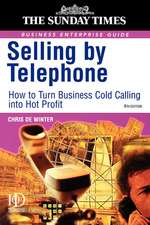 Selling by Telephone