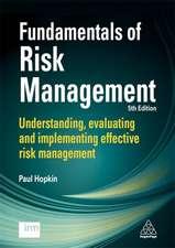 Fundamentals of Risk Management