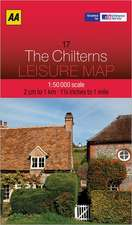 Leisure Map the Chilterns:  Street by Street