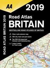 AA ROAD ATLAS BRITAIN 2019 SPIRAL