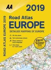 ROAD ATLAS EUROPE 2019