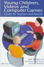 Young Children, Videos and Computer Games:  Issues for Teachers and Parents