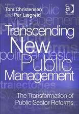 Transcending New Public Management