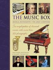 The Music Box:  Two Encyclopedias of Classical Music, with More Than 1150 Photographs